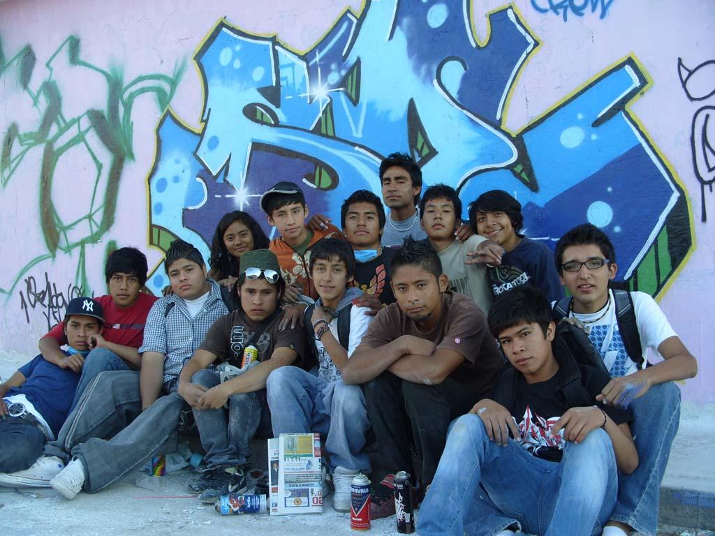 jóvenes perdidos en la delincuencia
