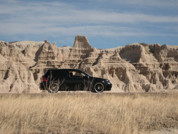 My Car in the Badlands