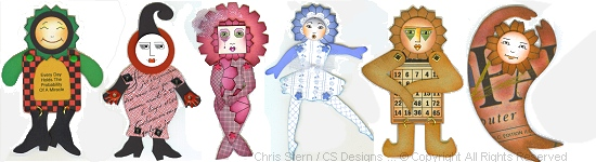 Paper Art Doll Template Collection