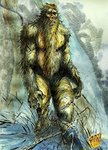 SASQUATCH ART @ AUTUMN WILLIAMS OREGON BIGFOOT SITE