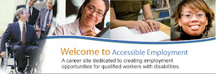 Image of Accessible Employment Logo