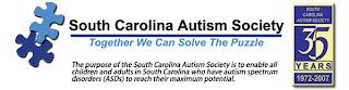 Image of South Carolina Autism Society Logo