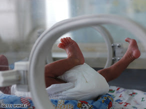 image of premature baby feet