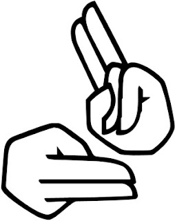 sign language clipart