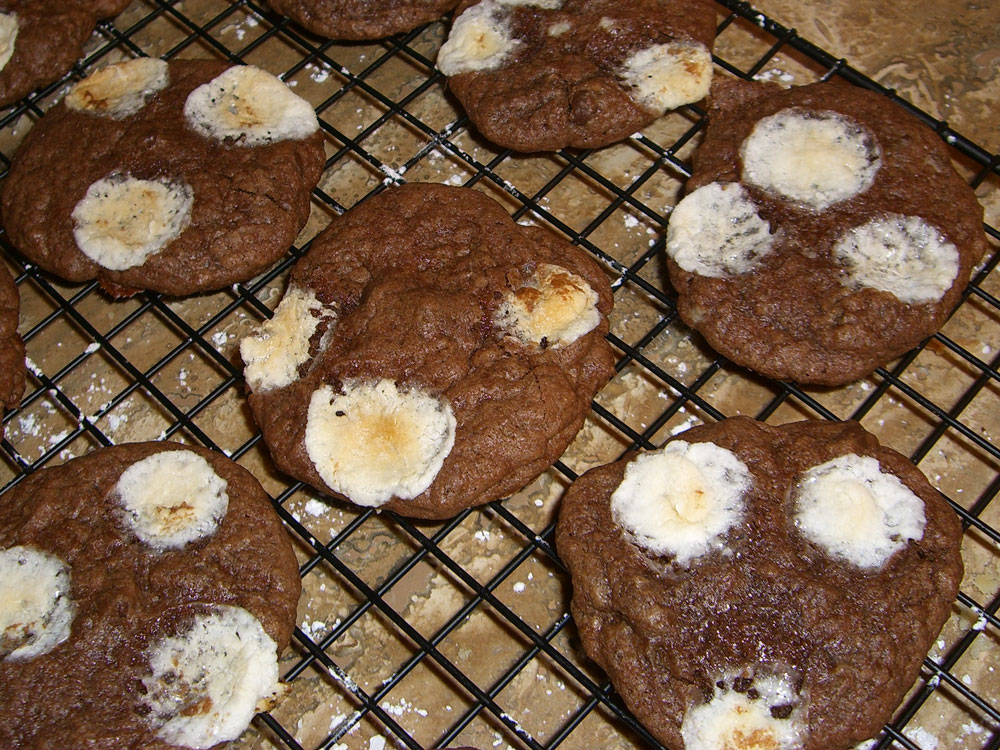 Monday Sweets: Mississippi Mud Cookies