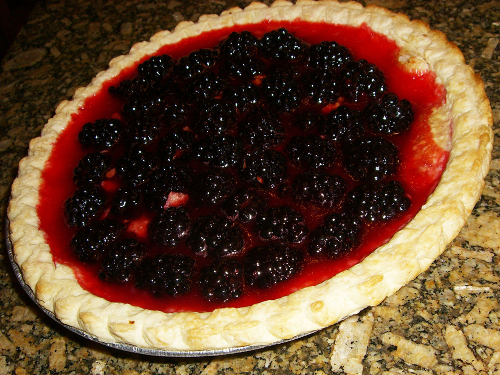 Maple Macaroni: Monday Sweets: Fresh Blackberry Pie