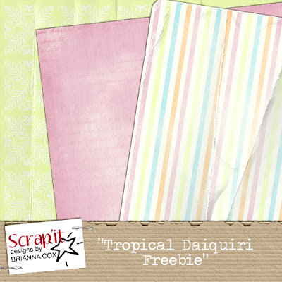 http://scrapitbybreeza.blogspot.com/2009/02/new-kit-tropical-daiquiri-freebie.html