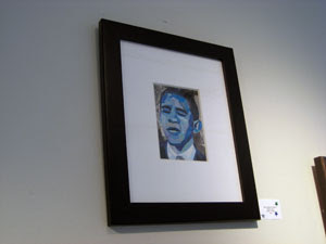 Blue Obama by Megan Coyle