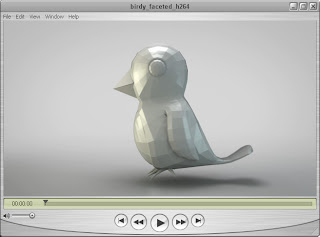 Birdy model by Brendan Coyle