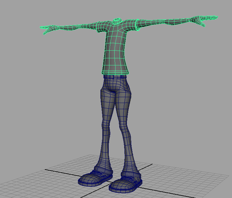 Character Design Tutorial In Maya : Ruben s page maya tutorials character modeling body
