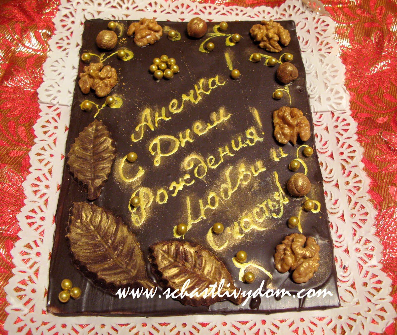 Открытки из шоколада день рождения