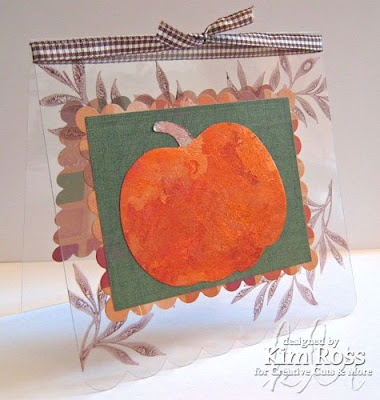 Tacky Pumpkin Clear Card