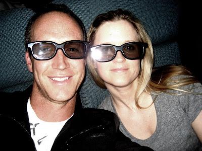 Alice in Wonderland 3-D glasses