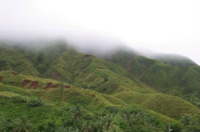 Guam in the mist