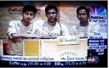 AEC: NATIONAL RUNNERS UP @ IQ 2008-INDIA'S BIGGEST UNDERGRADUATE INTERCOLLEGE QUIZ