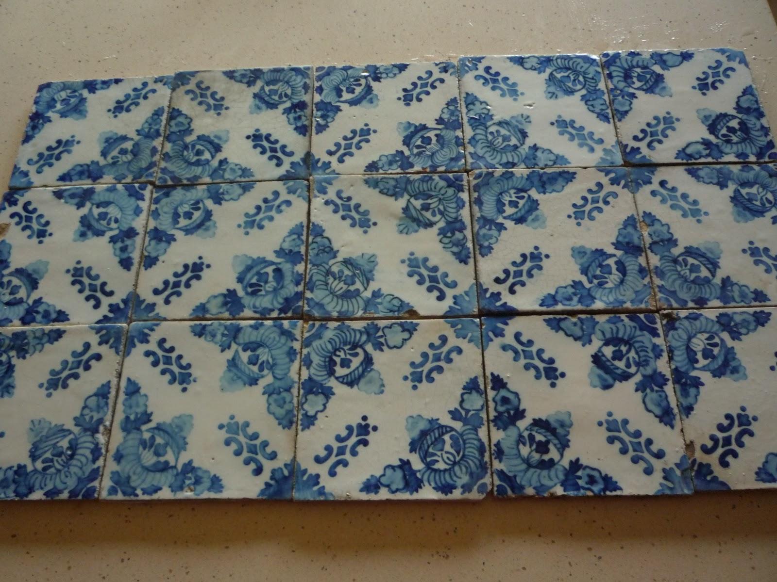 Arte livros e velharias azulejos da f brica de santo for Fabrica de azulejos