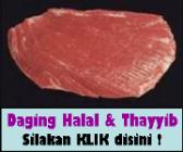 Daging Sapi Halal & Thayyib