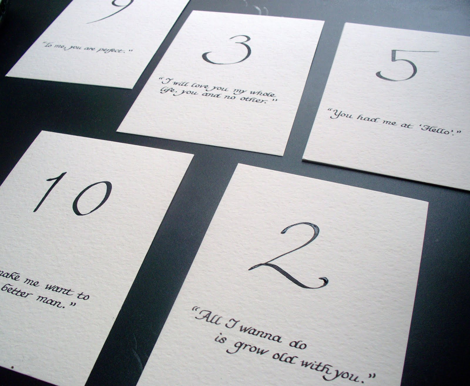 From the ash tree meadow calligraphy for quotes on for Table quotes