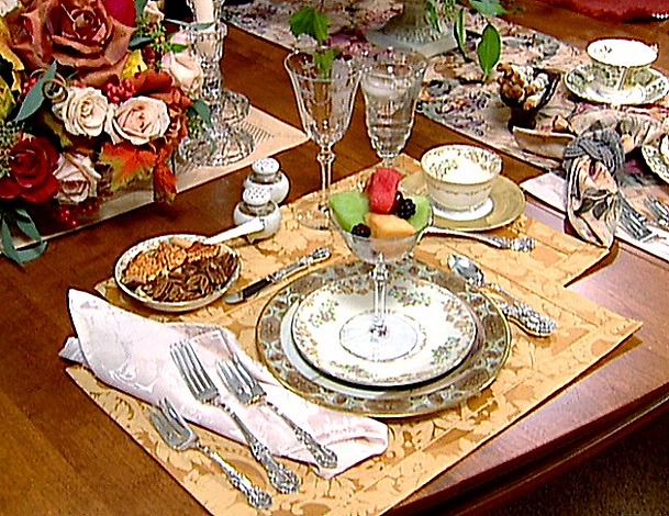 Formal Table Setting & house of decor: Formal Table Setting
