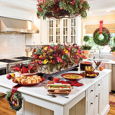 Kitchen Decor on House Of Decor  Christmas D  Cor For The Kitchen