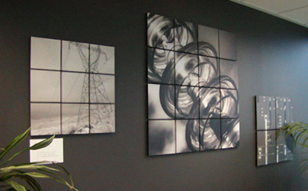 House of decor transforming office d cor - Office wall decoration ...