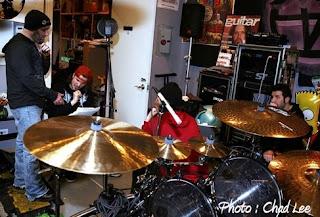Anthrax 2008 em estúdio
