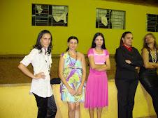 sandra Cristina, Vaneli, Lívia, Maria Izabel e Keila