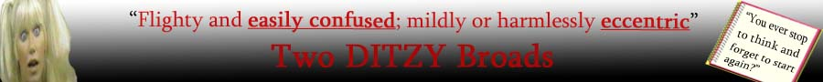 2 Ditzy Broads