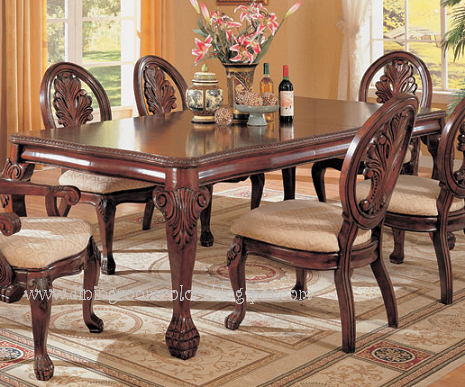 Dining room colors dining room furniture antique dining for Antique dining room tables