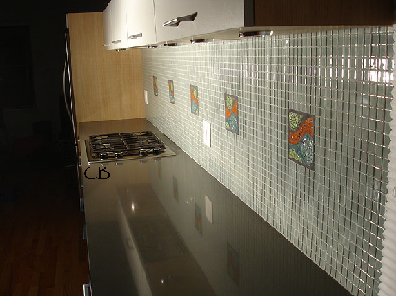 Kitchen cabinets kitchen cabinets ideas kitchen backsplash glass tile Kitchen backsplash ideas pictures 2010
