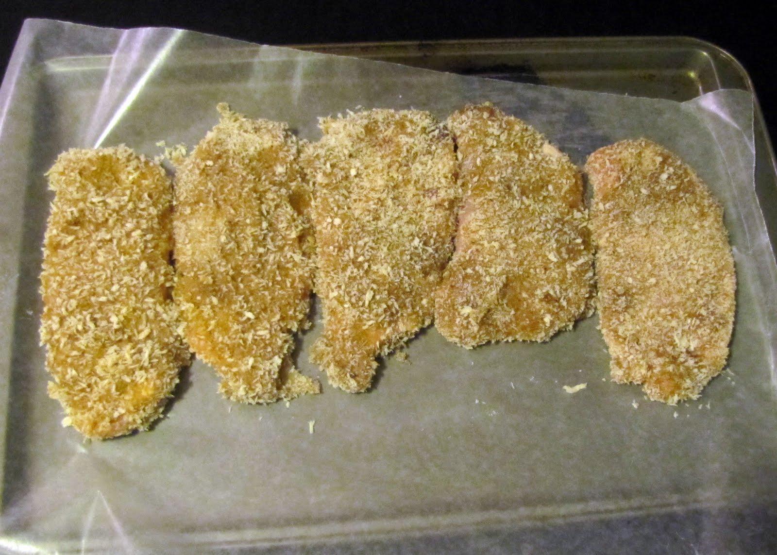 Pork Chops In Flour To Lightly Coat; Dip In Egg Mixture Dip In Panko Mixture