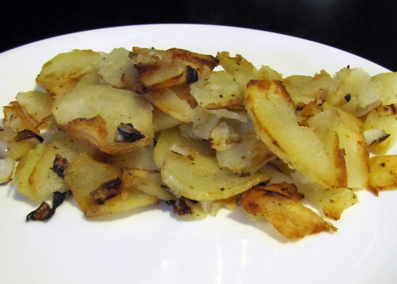 Smells Like Food in Here: American Fries with Onions
