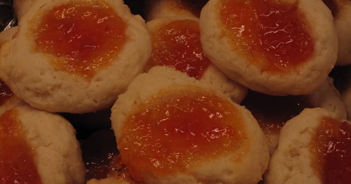 Marisa Makes: Apricot Cream Cheese Thumbprint Cookies
