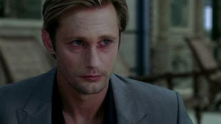 Alexander Skarsgard Wins But Needs Better Makeup!