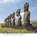 Monumento na Ilha de Páscoa