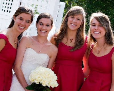 Custom Bridesmaids Necklaces | Nicole Roloff