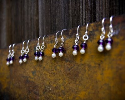 Custom Bridesmaids Earrings | Nicole Roloff