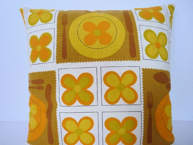 70s Flower Power Cushions