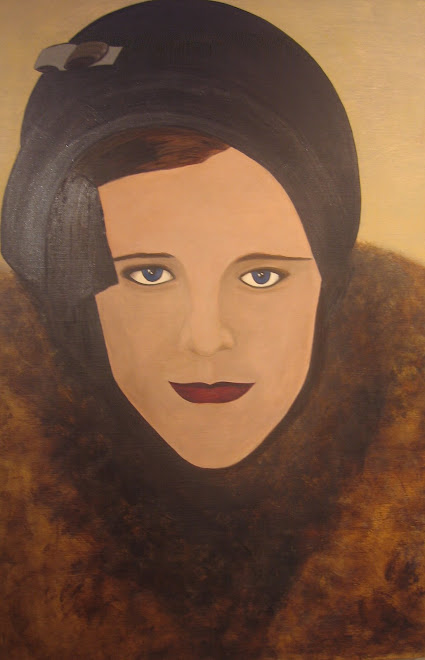"""The Immigrant"" acrylic on panel 2008"