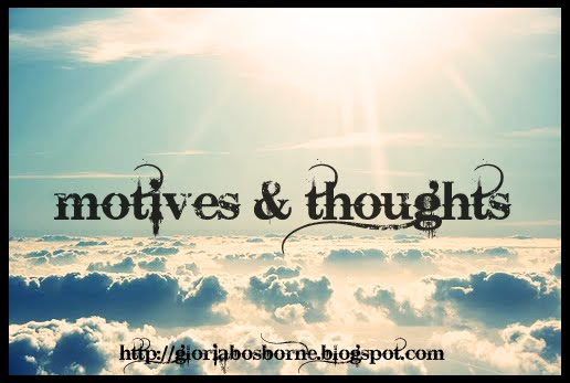 motives & thoughts.