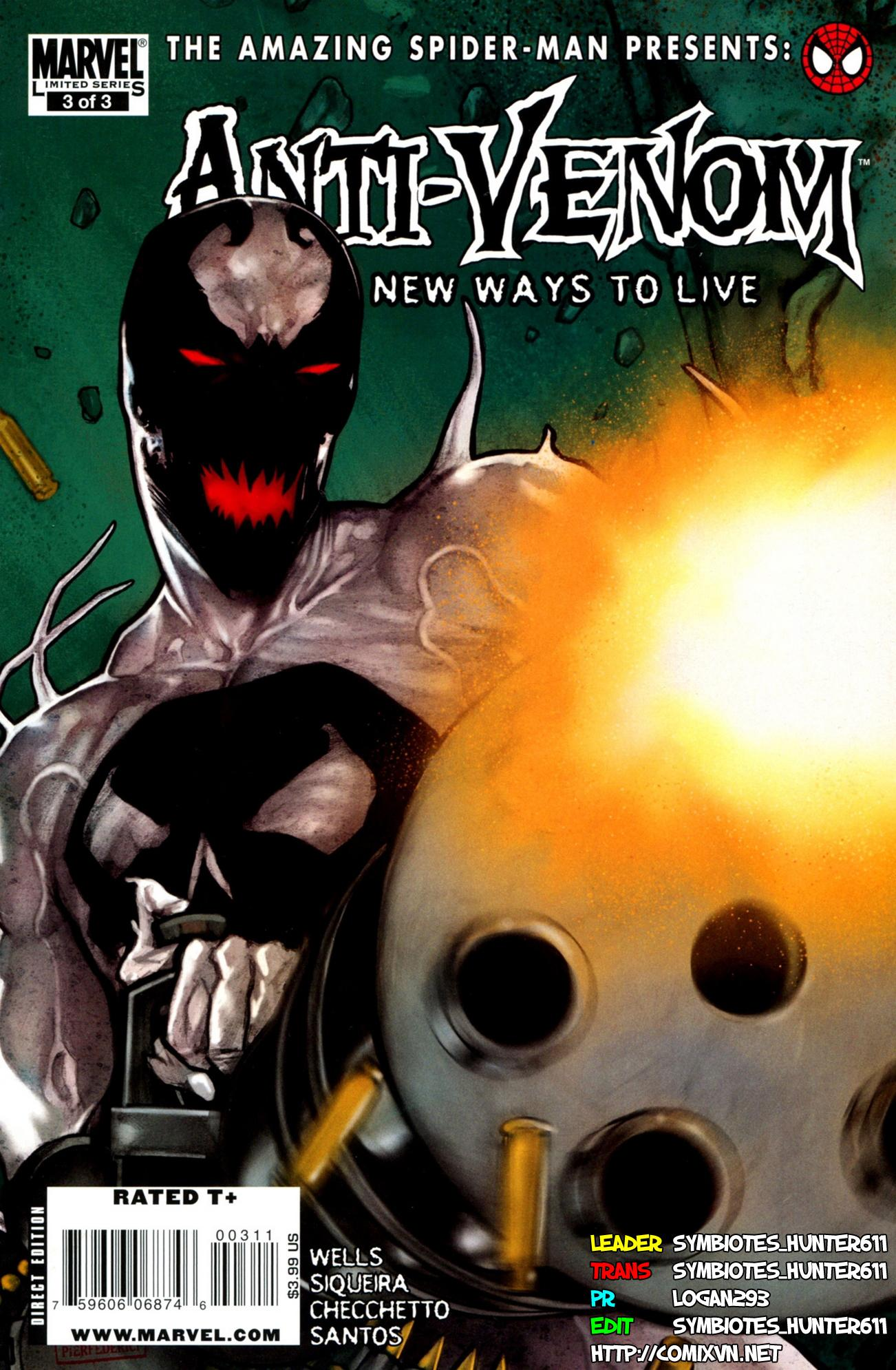 Anti-Venom New Way To Live Chap 3 - Trang 1