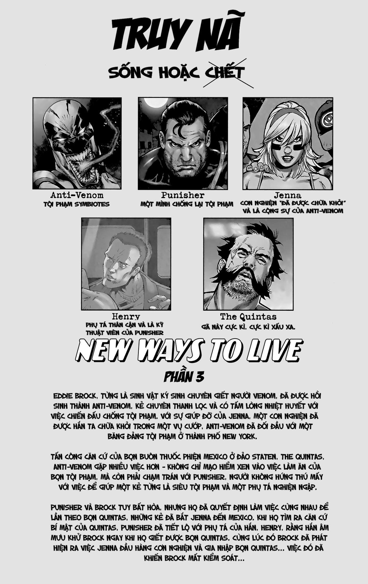 Anti-Venom New Way To Live Chap 3 - Trang 2