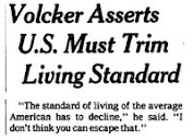 "1979 - Volcker Imposes Discipline: ""The Standard of Living of the Average American Has to Decline"""