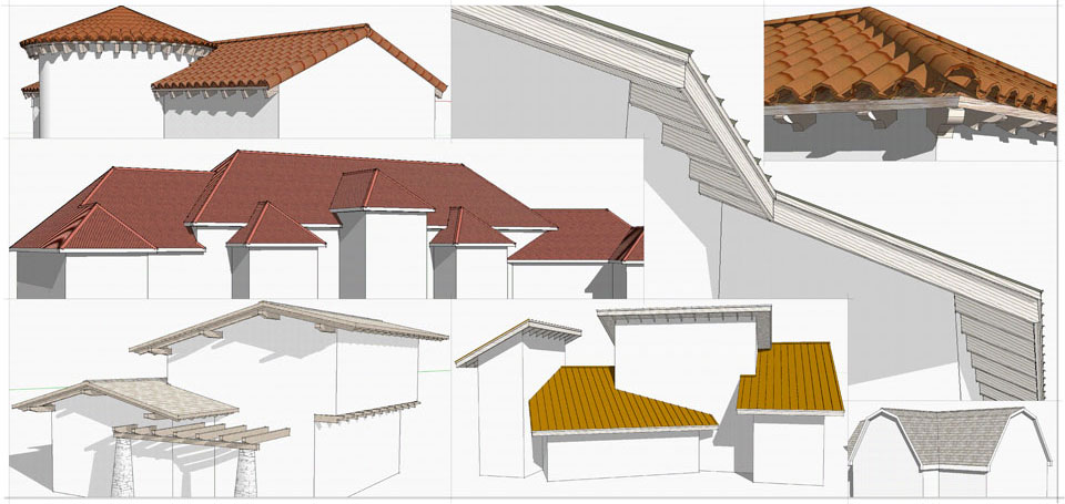 Google sketchup updates december 2010 Roof drawing software