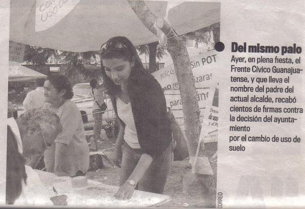 Niceforo Guerrero Reynoso Encuesta ciudadana sobre cambio de uso de suelo de áreas ecológicas.