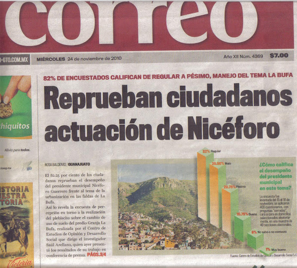 Reprueban Ciudadanos Actuación de Nicéforo Alejandro de Jesús Guerrero Reynoso