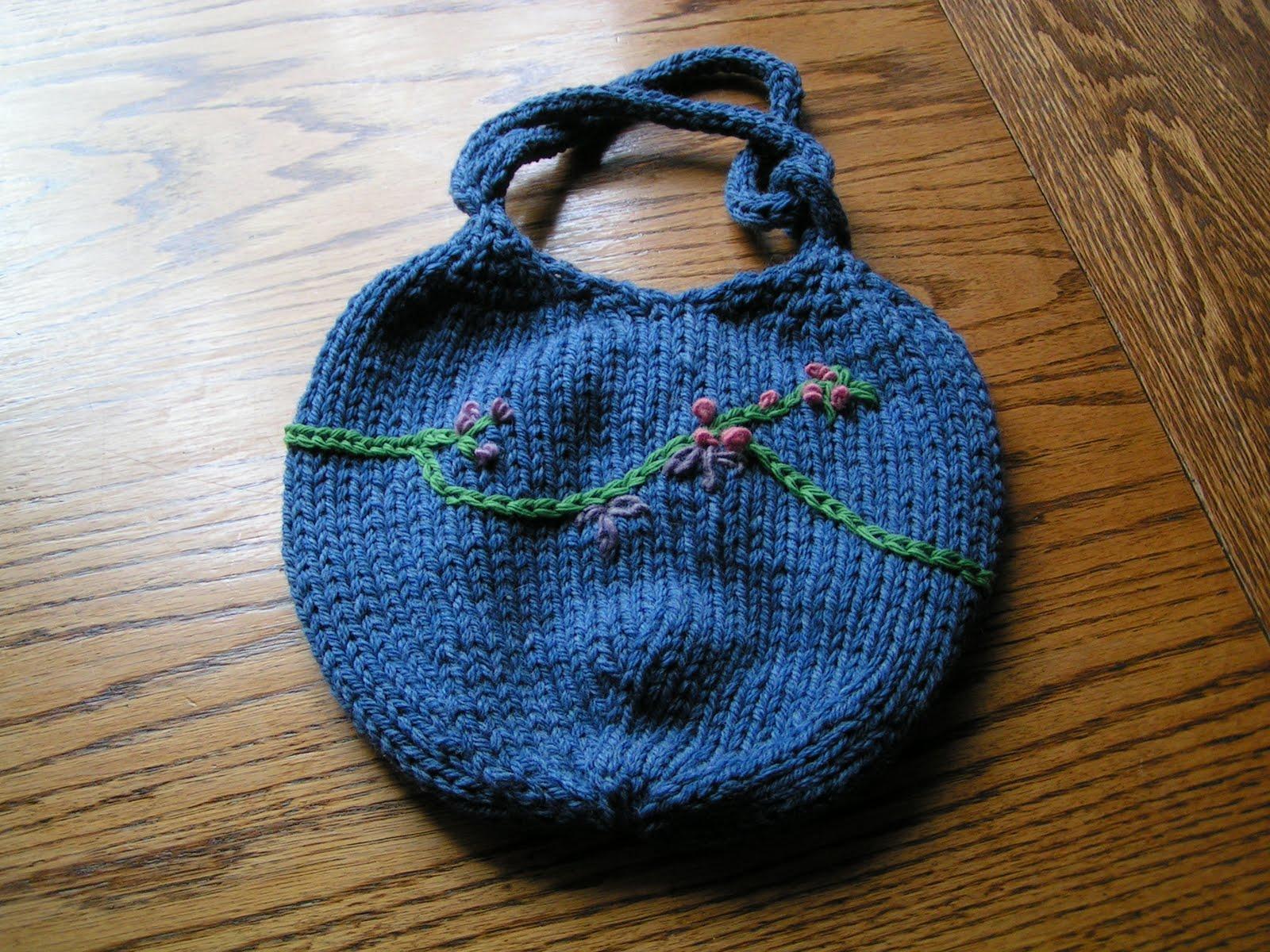 Dumpling Bag Knitting Pattern : A Piper Knits: Its a Dumpling Bag