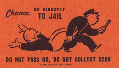 monopoly go directly to jail card