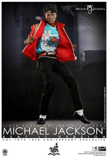 Michael Jackson Beat It Toys