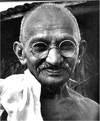 Mahatma Gandhi father of the nation